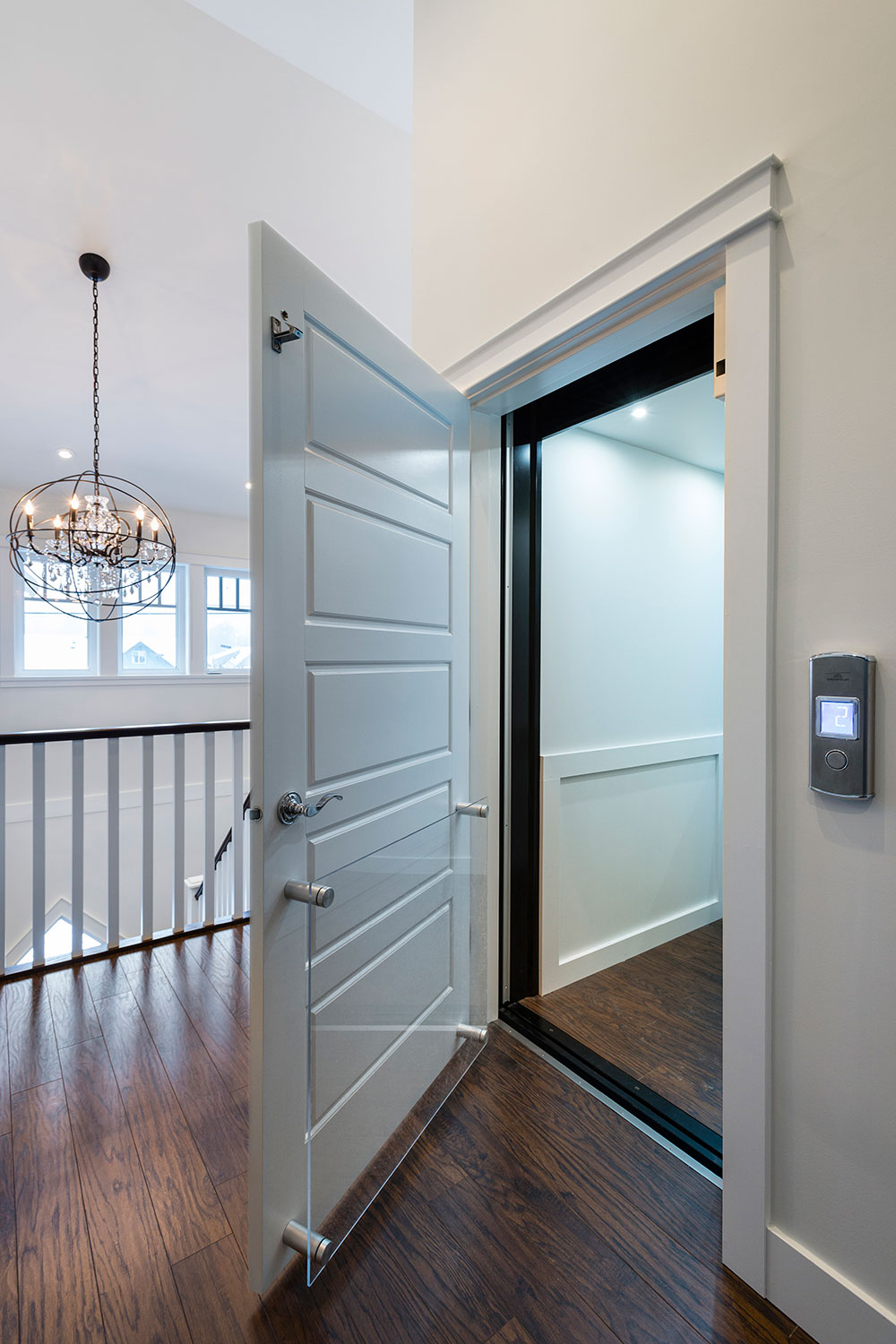 Custom Home accessibility suite elevator