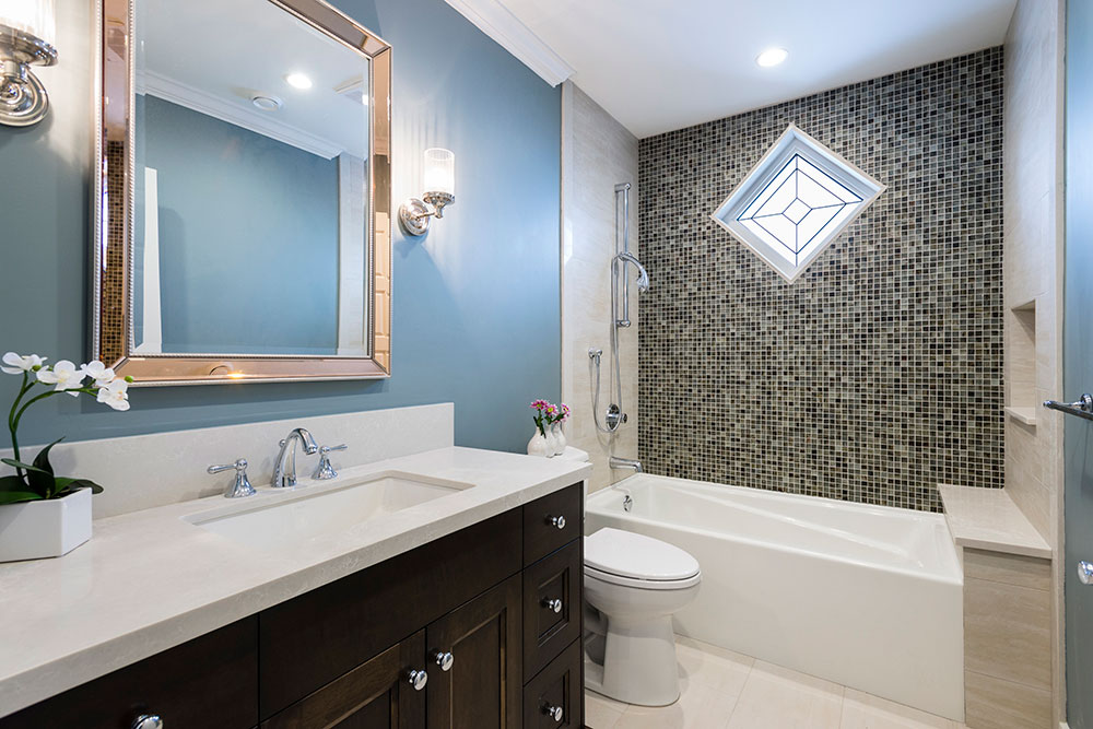bathroom renovation tub and toilet