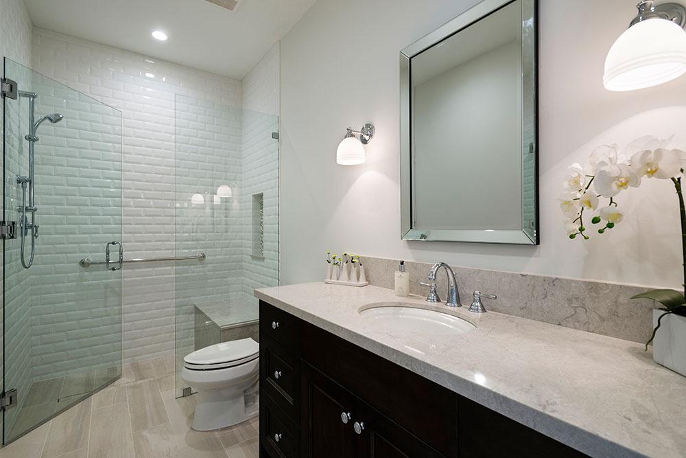 beautiful Custom Home bathroom