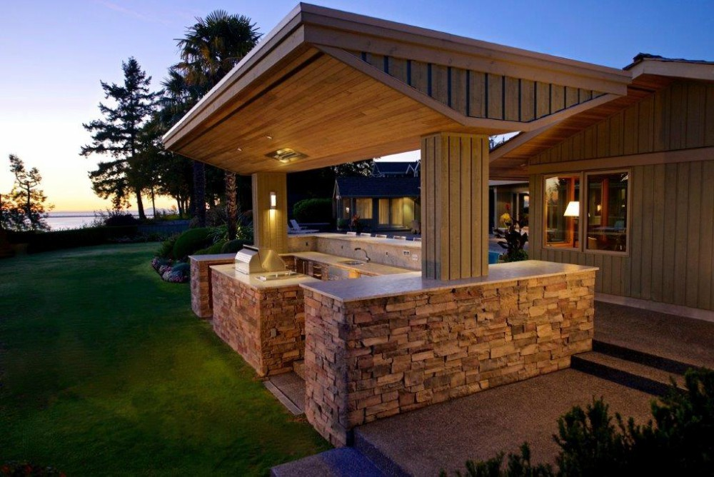 outdoor entertaining by kemp construction