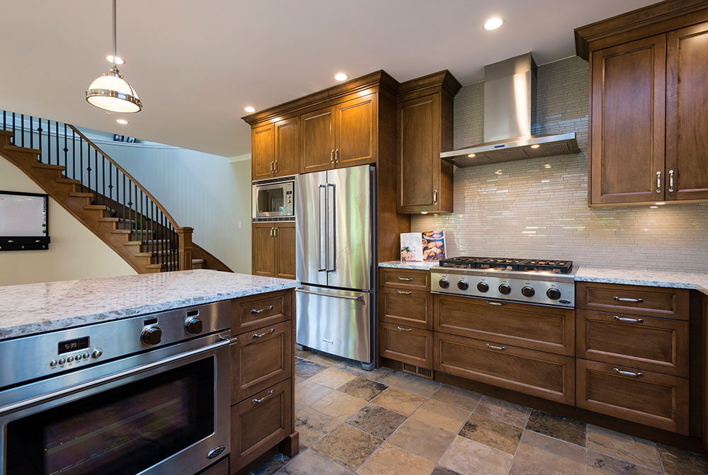 kitchen renovation Kemp mahogony
