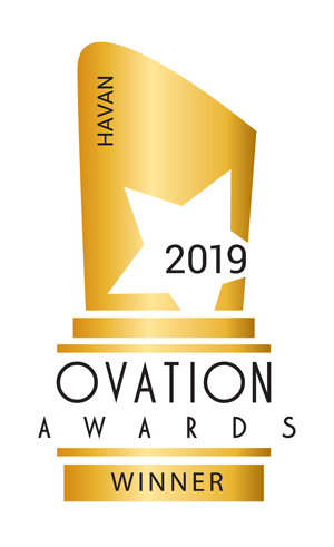 ovation awards winner logo