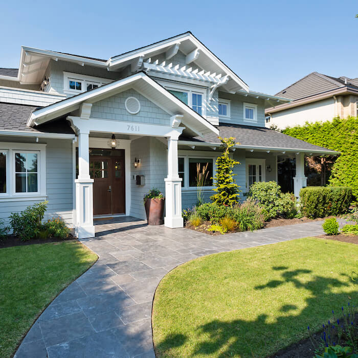 Custom Home high performance home in richmond bc