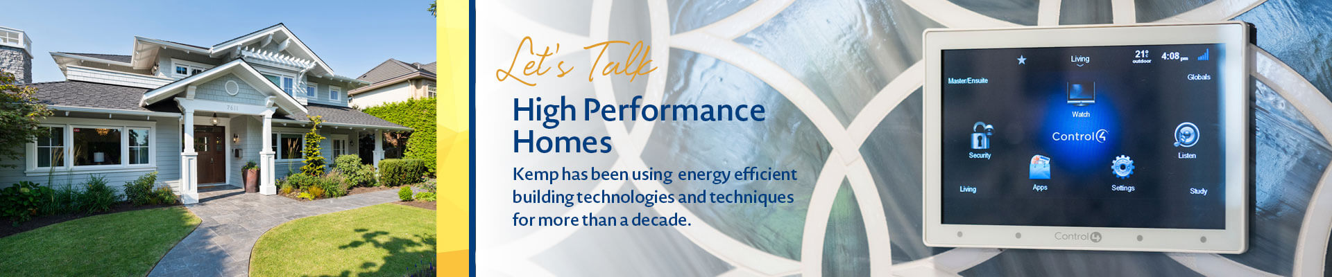 kemp construction high performance homes