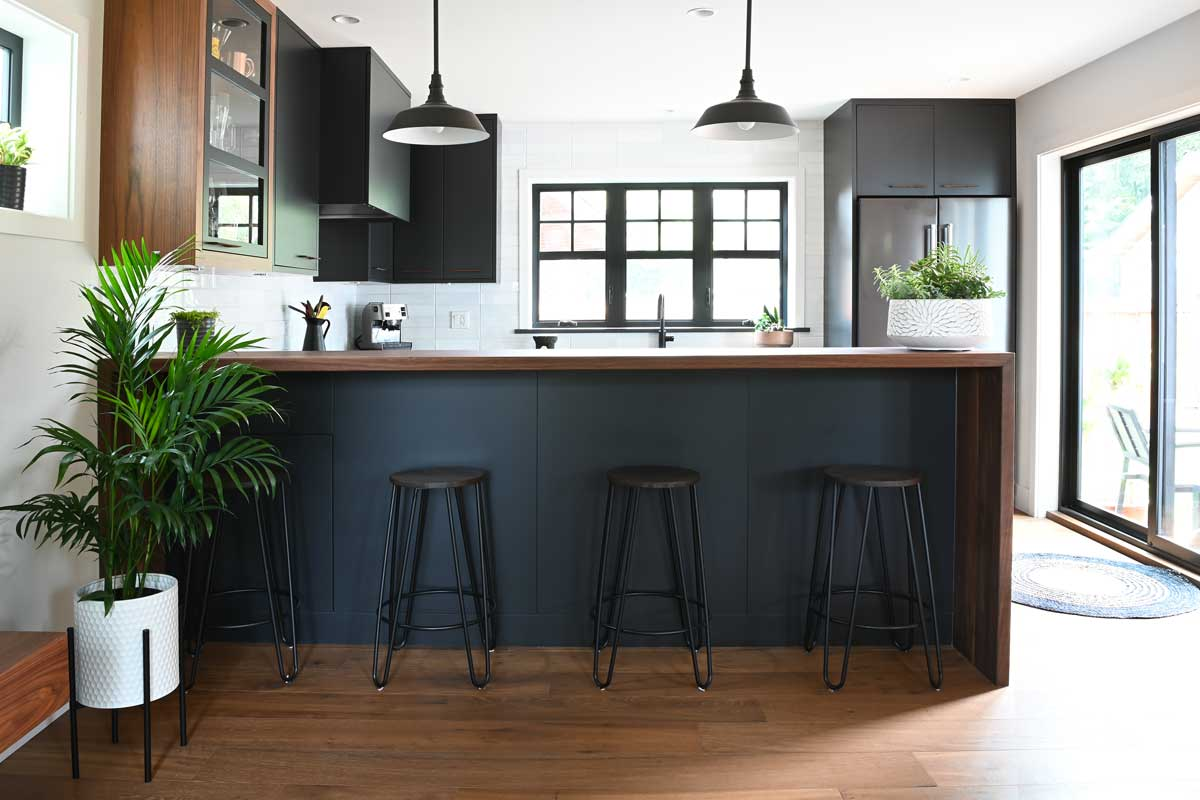 kitchen renovation barstools